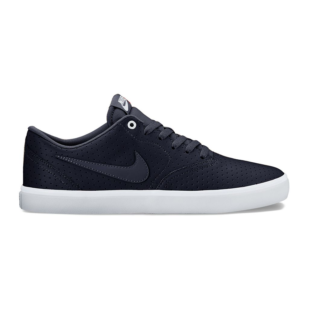 Nike SB Check Solarsoft Premium Men's Suede Skate Shoes