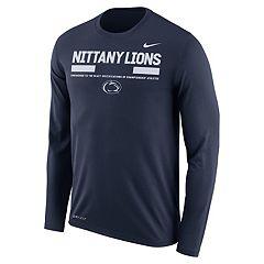 Men's Nike Penn State Nittany Lions Dri-FIT Legend Staff Long-Sleeve Tee