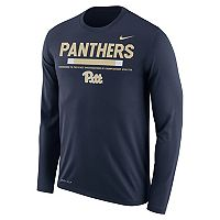 Men's Nike Pitt Panthers Dri-FIT Legend Staff Long-Sleeve Tee