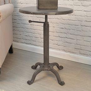 Irene Adjustable End Table