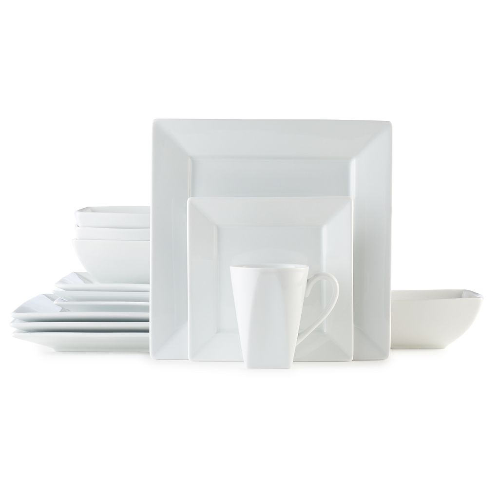 Food Network™ Shortbread 16-pc. Square Dinnerware Set
