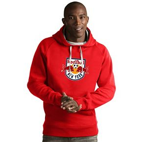 Men's Antigua New York Red Bulls Victory Logo Hoodie
