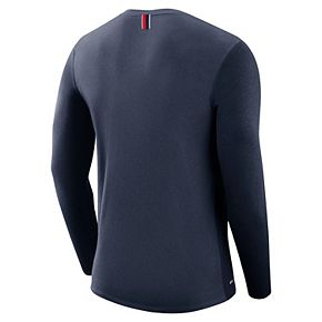 Men's Nike Arizona Wildcats Marled Long-Sleeve Dri-FIT Tee