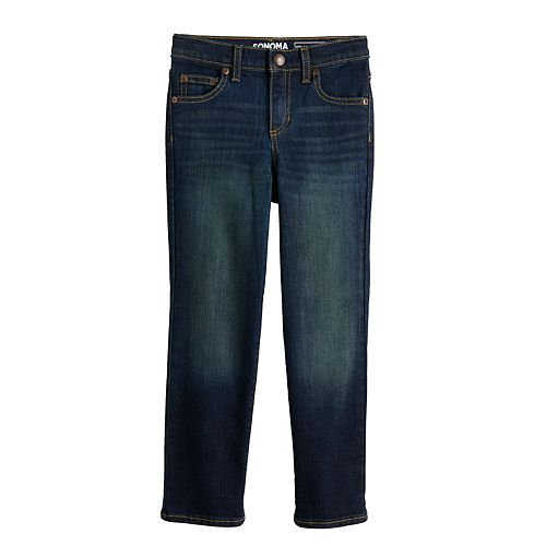 Boys 4-7x SONOMA Goods for Life™ Relaxed Bootcut Jeans in Regular, Slim & Husky