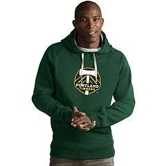 Men's Antigua Portland Timbers Victory Logo Hoodie