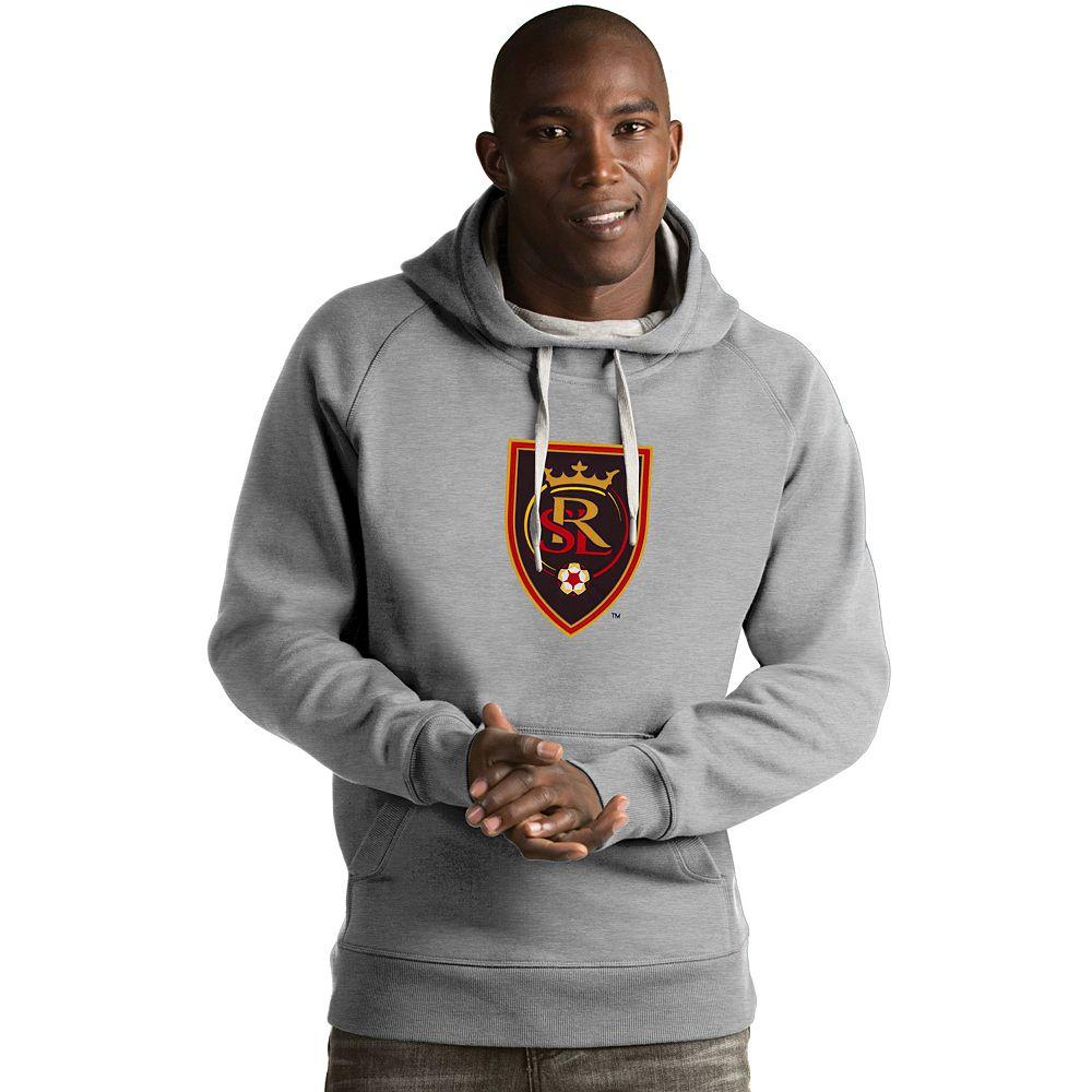 Men's Antigua Real Salt Lake Victory Logo Hoodie
