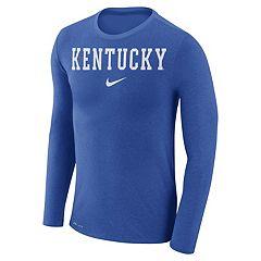 Men's Nike Kentucky Wildcats Marled Long-Sleeve Dri-FIT Tee
