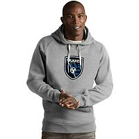 Men's Antigua San Jose Earthquakes Victory Logo Hoodie