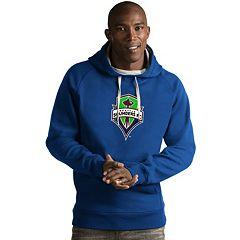 Men's Antigua Seattle Sounders Victory Logo Hoodie