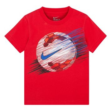 Boys 4-7 Nike Linear Soccer Ball Graphic Tee