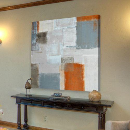 Marmont Hill Blending Shades Canvas Wall Art