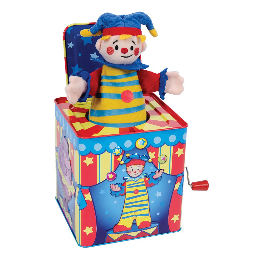 Schylling Silly Circus Jack-In-Box Toy