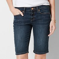 Women's SONOMA Goods for Life™ Faded Bermuda Jean Shorts
