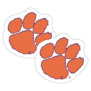 Clemson Tigers 2-Pack Large Peel & Stick Decals