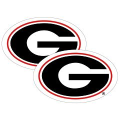 Georgia Bulldogs 2-Pack Large Peel & Stick Decals