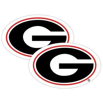 Georgia Bulldogs 2-Pack Large Peel & Stick Decals
