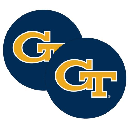 Georgia Tech Yellow Jackets 2-Pack Large Peel & Stick Decals