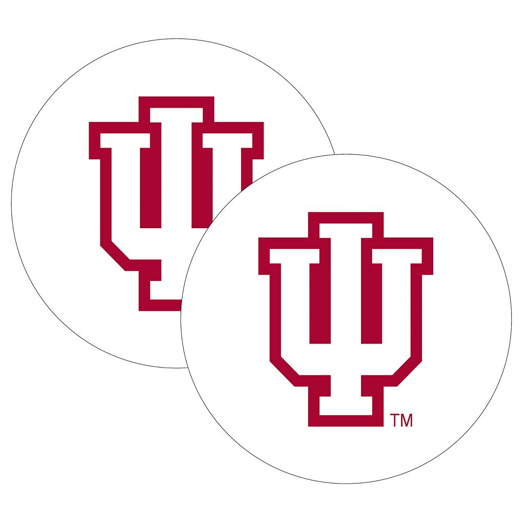 Indiana Hoosiers 2-Pack Large Peel & Stick Decals