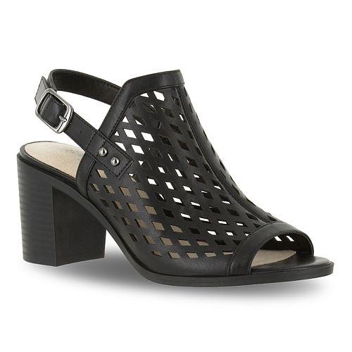 Erin Women's Sandals Block Street Heel Easy b7gyYf6