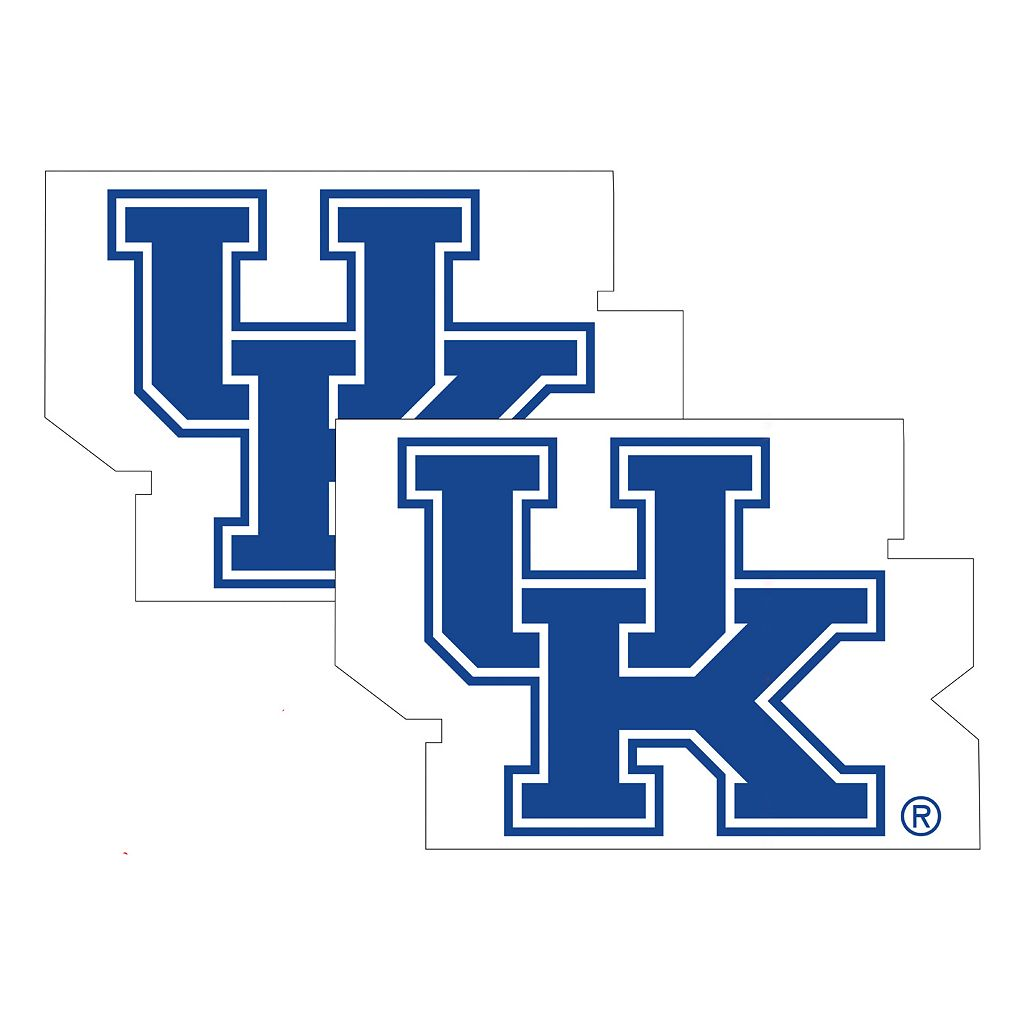 Kentucky Wildcats 2-Pack Large Peel & Stick Decals