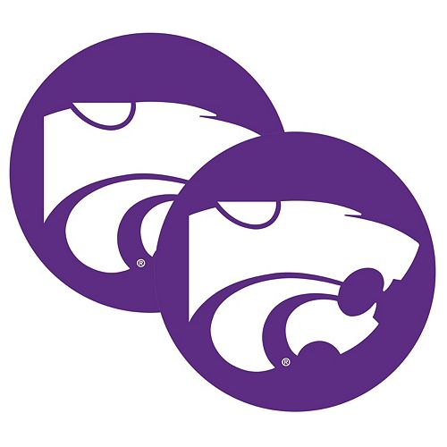 Kansas State Wildcats 2-Pack Large Peel & Stick Decals