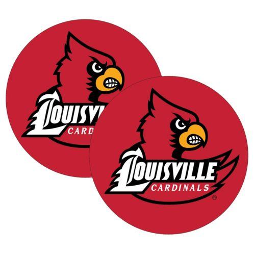 Louisville Cardinals 2-Pack Large Peel & Stick Decals
