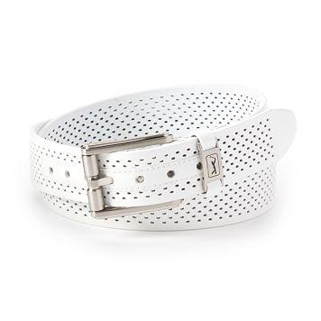 Men's PGA Tour Roller-Buckle Leather Golf Belt