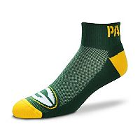 Men's For Bare Feet Green Bay Packers The Cuff Low-Cut Socks
