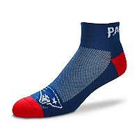 Men's For Bare Feet New England Patriots The Cuff Low-Cut Socks