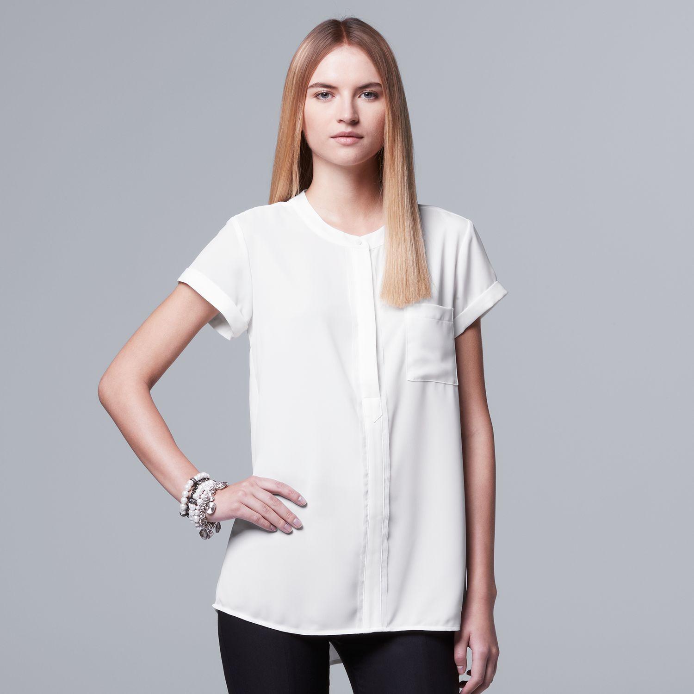 Womans White Shirt