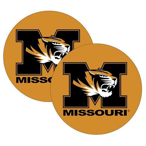 Missouri Tigers 2-Pack Large Peel & Stick Decals