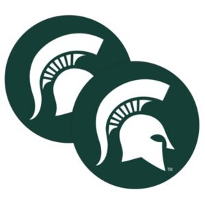 Michigan State Spartans 2-Pack Large Peel & Stick Decals