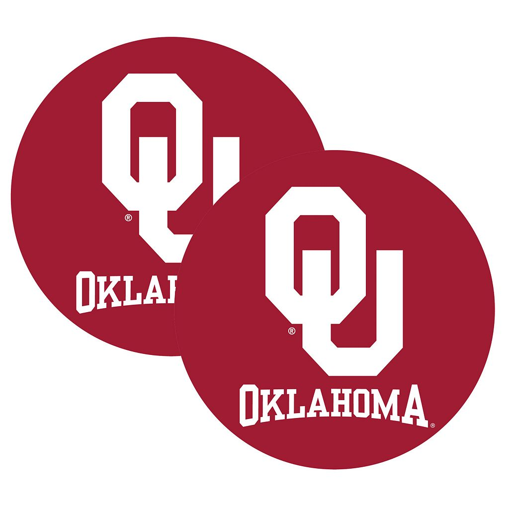 Oklahoma Sooners 2-Pack Large Peel & Stick Decals