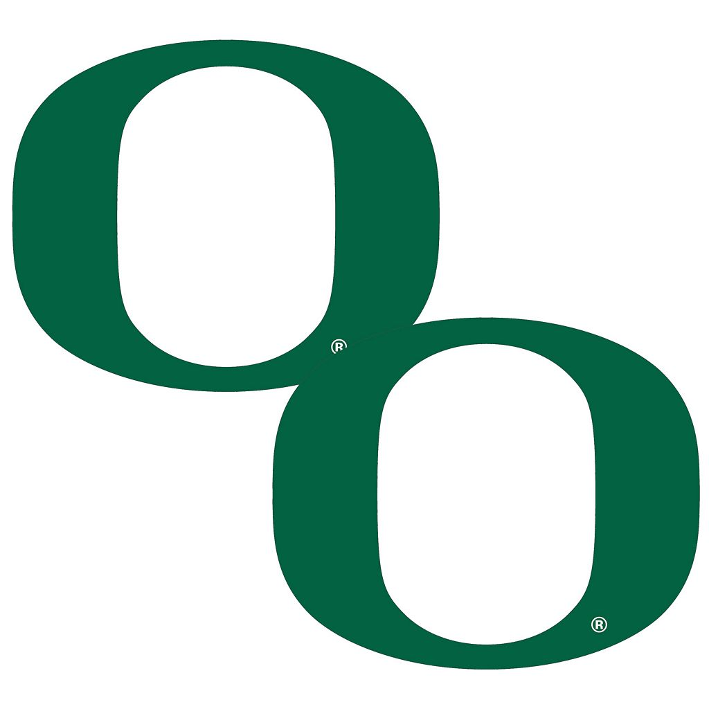 Oregon Ducks 2-Pack Large Peel & Stick Decals