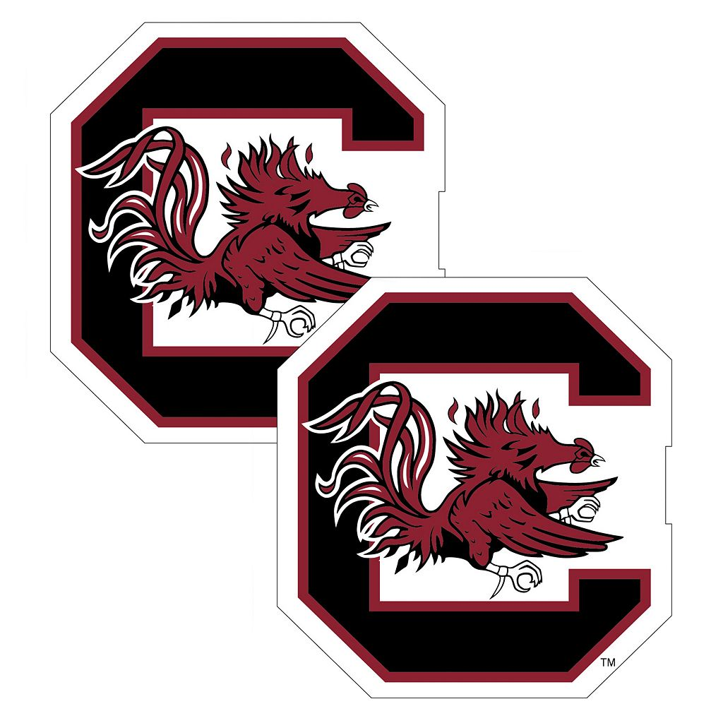 South Carolina Gamecocks 2-Pack Large Peel & Stick Decals