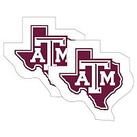 Texas A&M Aggies 2-Pack Large Peel & Stick Decals