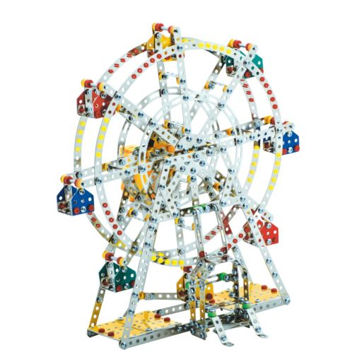 Steel Works Metal Ferris Wheel Construction Set