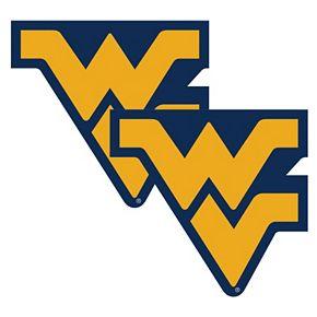 West Virginia Mountaineers 2-Pack Large Peel & Stick Decals