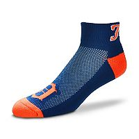 Men's For Bare Feet Detroit Tigers The Cuff Low-Cut Socks