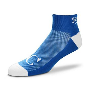 Men's For Bare Feet Kansas City Royals The Cuff Low-Cut Socks