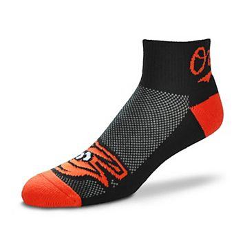Men's For Bare Feet Baltimore Orioles The Cuff Low-Cut Socks