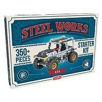 Steel Works Metal Vehicle Construction Set