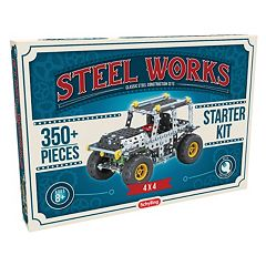 Steel Works Metal Vehicle Construction Set