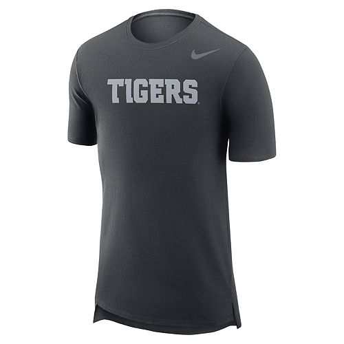 Men's Nike Clemson Tigers Enzyme Droptail Tee