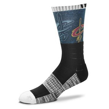 Adult For Bare Feet Cleveland Cavaliers Blackout Socks