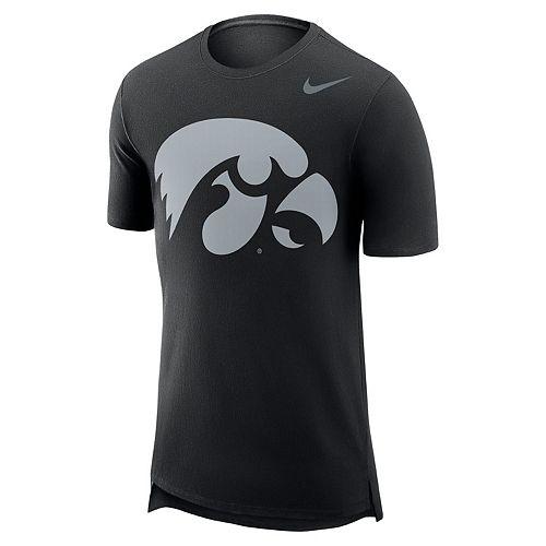 Men's Nike Iowa Hawkeyes Enzyme Droptail Tee