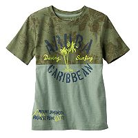 Boys 4-7x SONOMA Goods for Life™ Slubbed Beach Print Graphic Tee