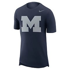 Men's Nike Michigan Wolverines Enzyme Droptail Tee