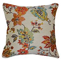 Spencer Home Decor Chimera Floral Jacquard Throw Pillow