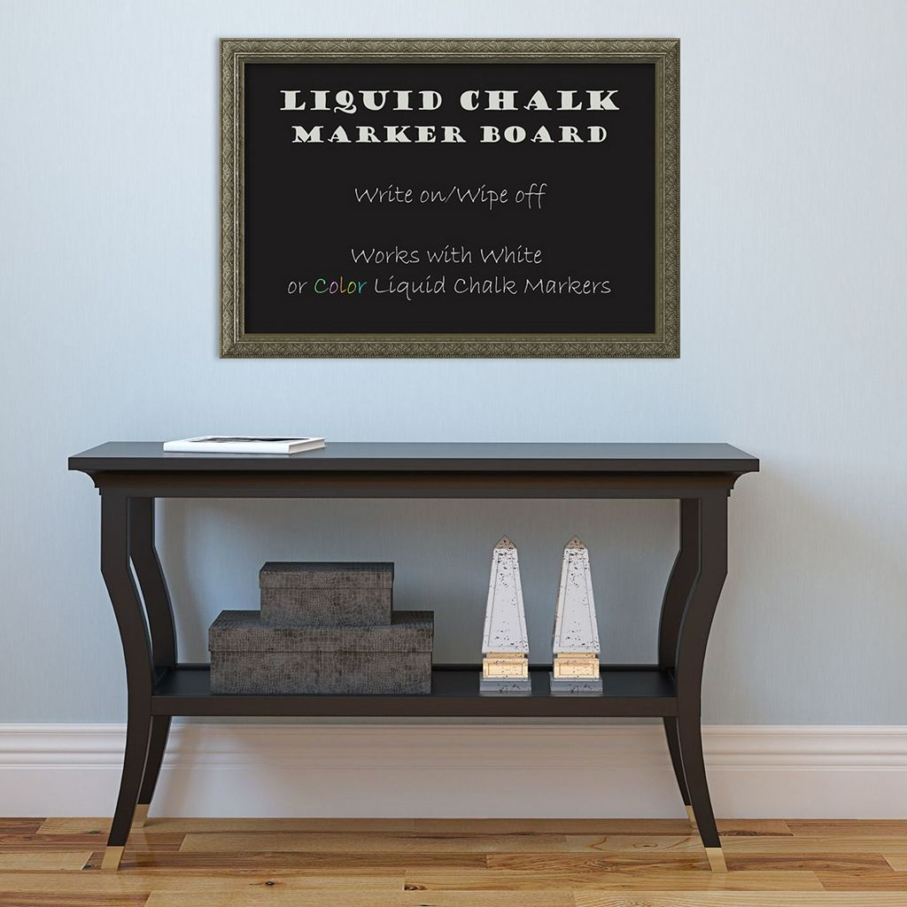 Amanti Art Framed Liquid Chalk Marker Board Wall Decor